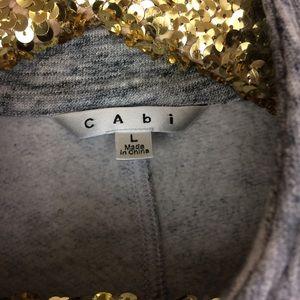 CAbi Jackets & Coats - CAbi #596 Hourglass Sweatshirt Jacket Size LG